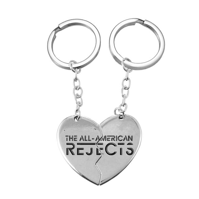 All american rejects Heart Break Keychains