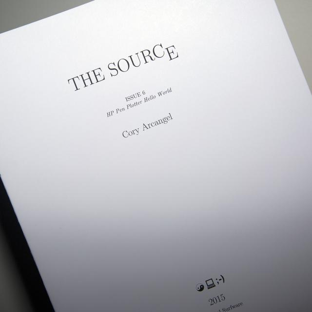Arcangel Surfware The Source Issue #6: HP Pen Plotter Hello World (SRF-022)