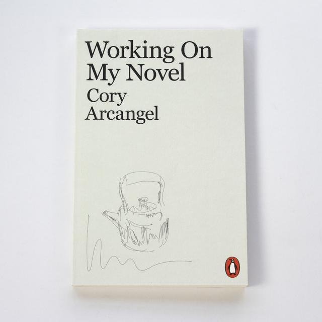 Arcangel Surfware Working On My Novel (SRF-Imports)