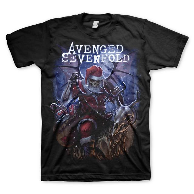 Avenged Sevenfold Santa Claws T-Shirt