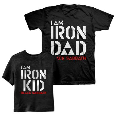 Black Sabbath Father's Day Youth and Adult Tee Bundle