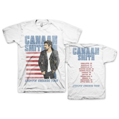 Canaan Smith Stompin' Grounds 2015 Tour T-Shirt