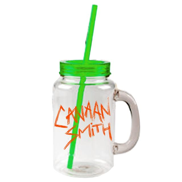 Canaan Smith Logo Plastic Mason Jar
