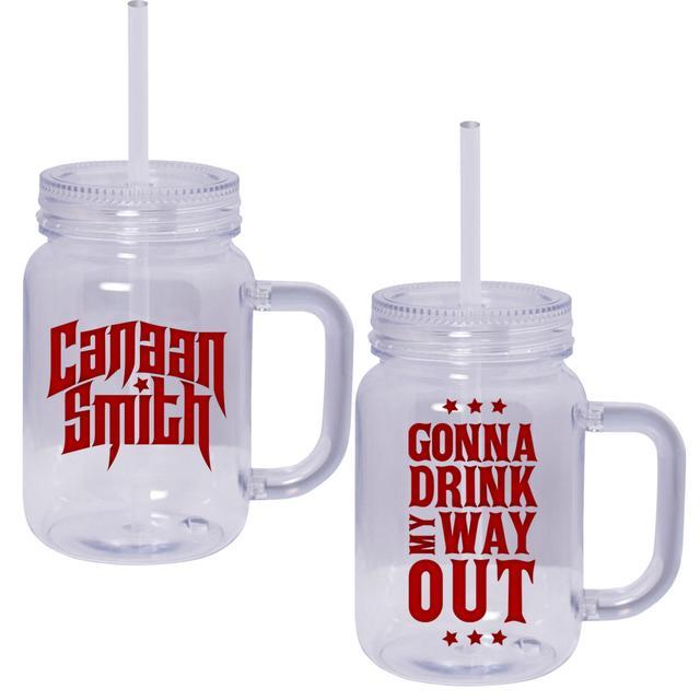 Canaan Smith Drink My Way Out Mason Jar