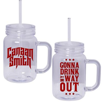 Canaan Smith Drink My Way Out Mason Jar