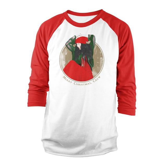 Cher Merry Christmas Raglan