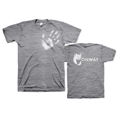 Conway White HandPrint TriBlend Unisex T-Shirt