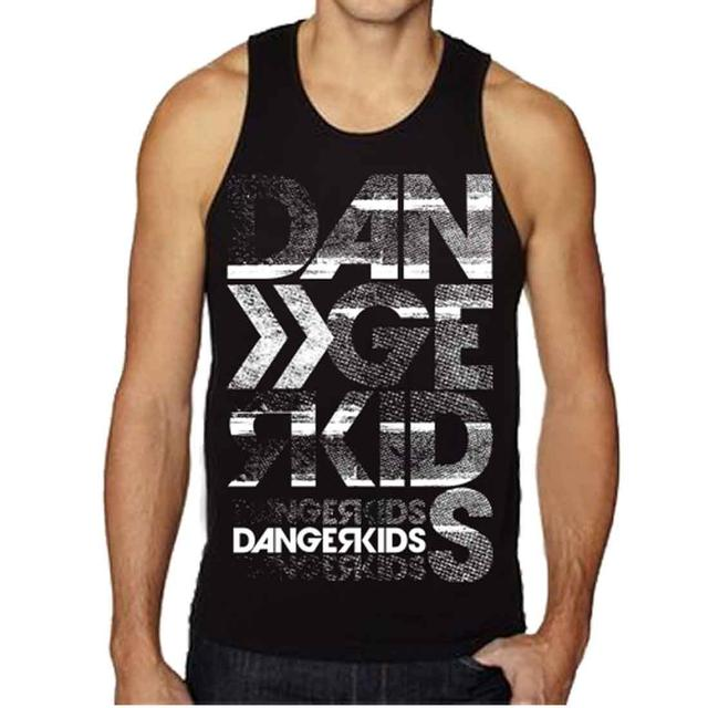 Dangerkids Static Tank - Black/White