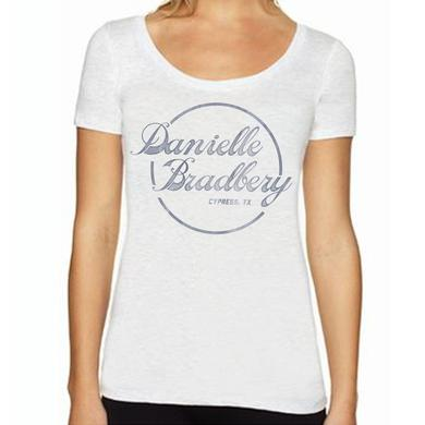 Danielle Bradbery DB Circle Logo Women's Scoop Neck T-Shirt