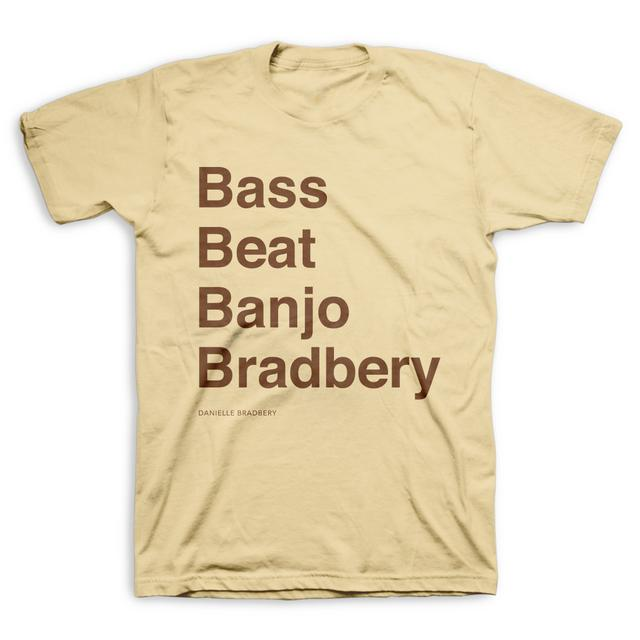 Danielle Bradbery Bass Beat Banjo Bradbery T-Shirt