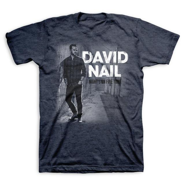 David Nail Night's On Fire Tour T-Shirt
