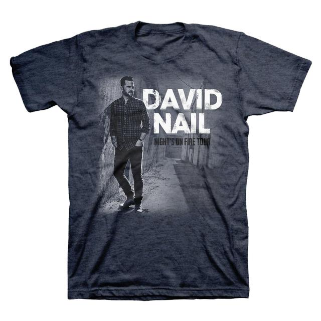 David Nail Night's On Fire Tour T-Shirt