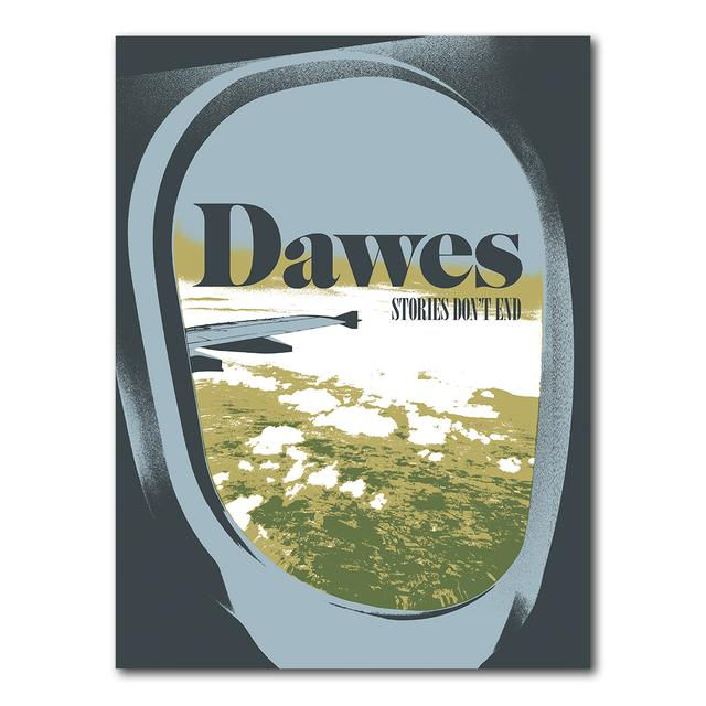 Dawes Airplane Window Litho