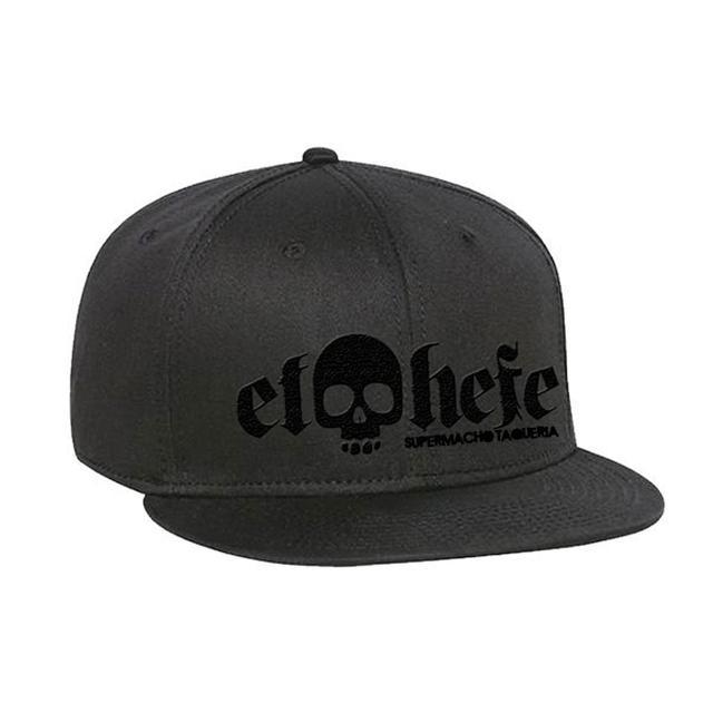 El Hefe Black Logo/Black Hat