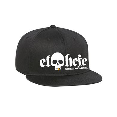El Hefe White Logo/Black Hat