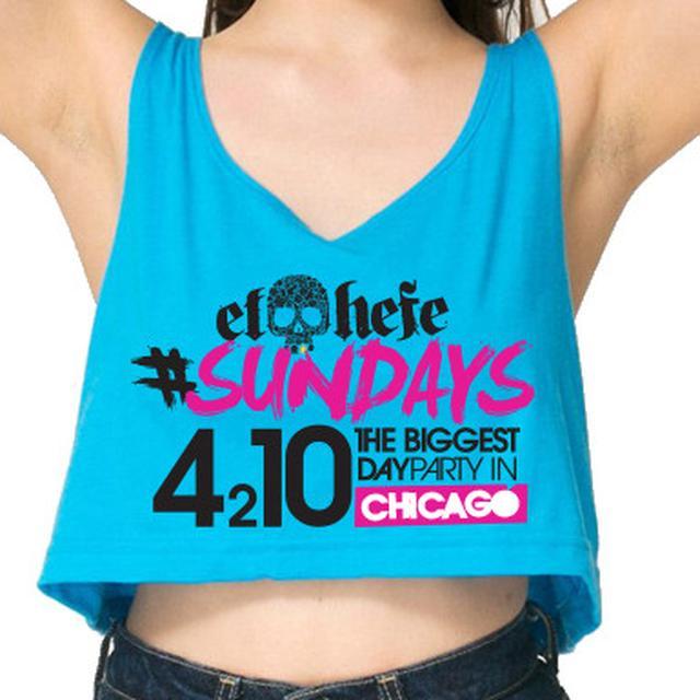 Women's El Hefe 4 2 10 Chicago Crop Top