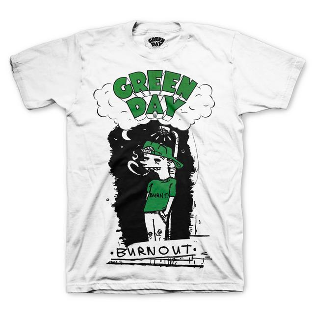 Green Day Burnout T-Shirt