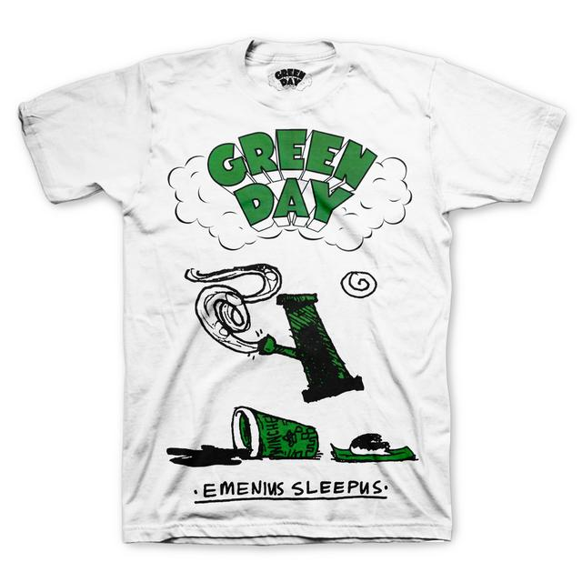 Green Day Emenius Sleepus T-Shirt