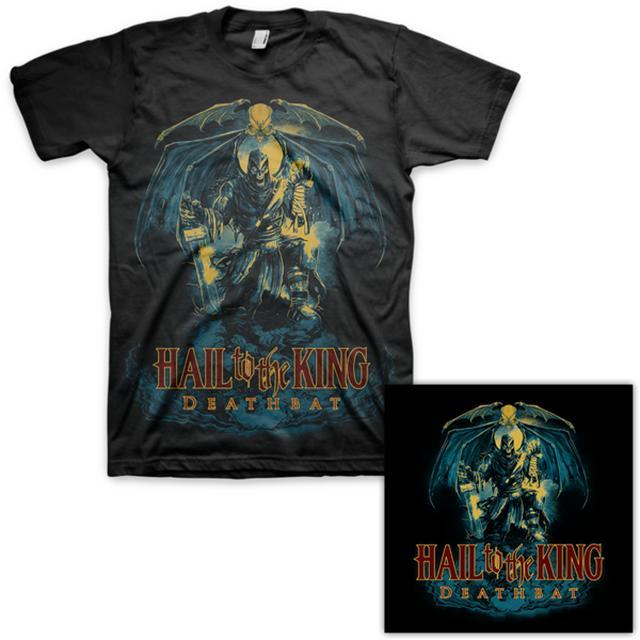 Avenged Sevenfold Hail to the King: Deathbat T-Shirt & Autographed Litho Bundle