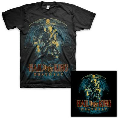 Avenged Sevenfold Hail to the King: Deathbat T-Shirt & Autographed Litho Bundle