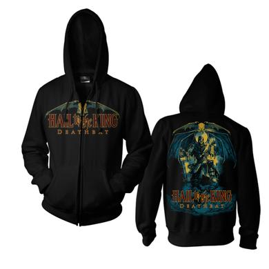 Avenged Sevenfold Hail to the King: Deathbat Zip Hoodie