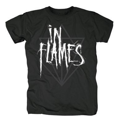 In Flames Scratch Jesterhead Logo T-Shirt