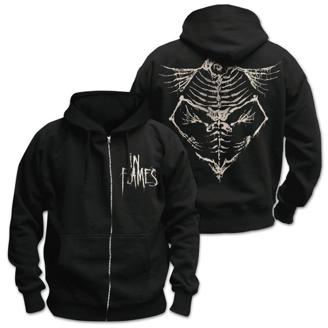In Flames Jesterhead Bones Hooded Sweatshirt