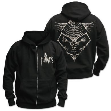 In Flames Jesterhead Bones Hooded Sweatshirt