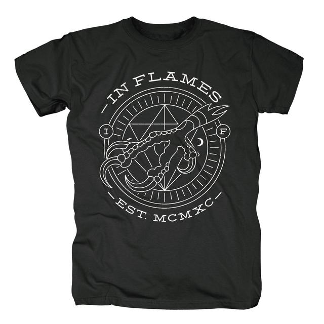 In Flames Circle Claw T-Shirt