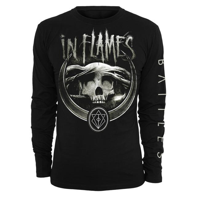 In Flames Battles Badge Longsleeve Shirt