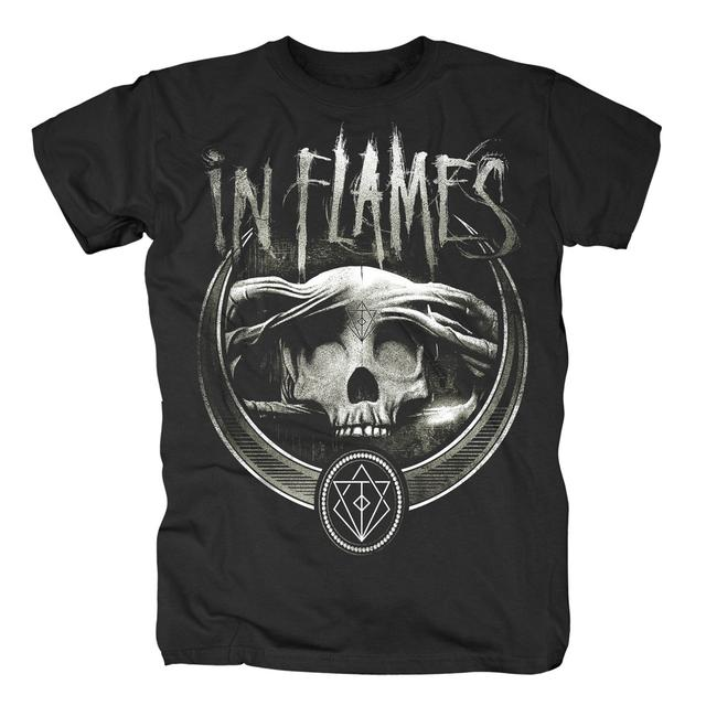 In Flames Battles Badge T-Shirt