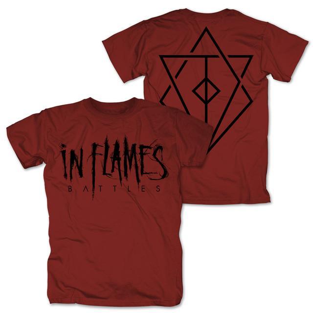 In Flames Battles Logo Tee