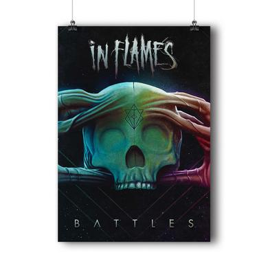 In Flames Battles Poster