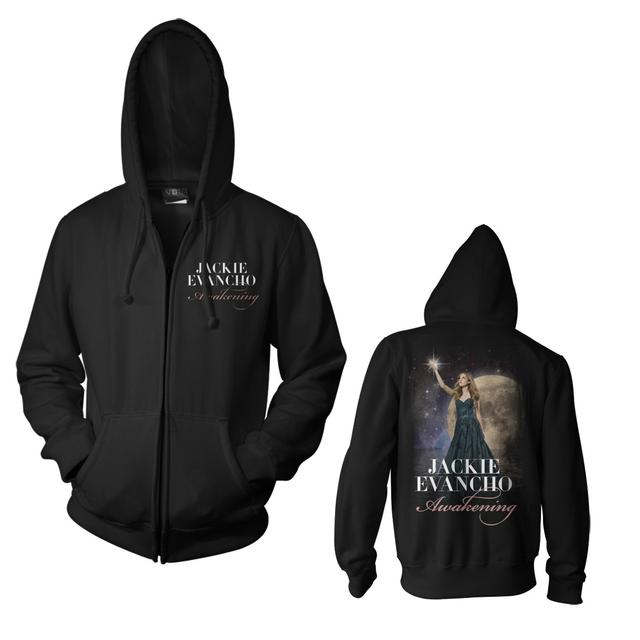 Jackie Evancho Awakening Photo Zip Sweatshirt