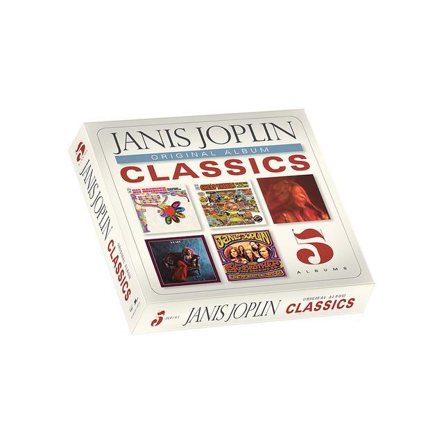 Janis Joplin Original Album Classics Box Set