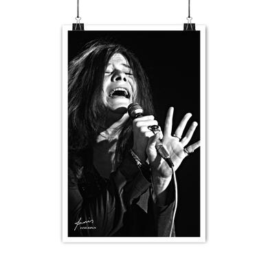 Janis Joplin Lithograph