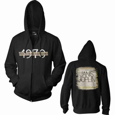 Janis Joplin Hoodie | Black 1970 Edition