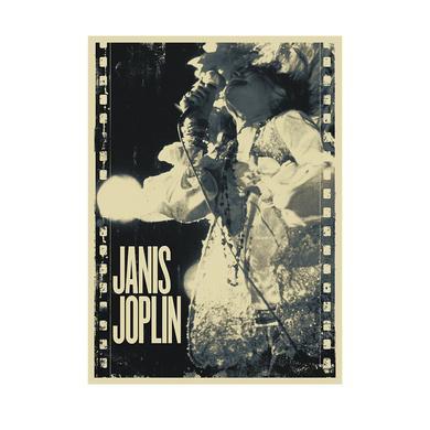 Janis Joplin Live Film Lithograph