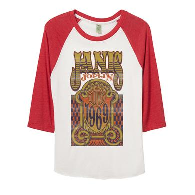 Janis Joplin Love 1969 Raglan