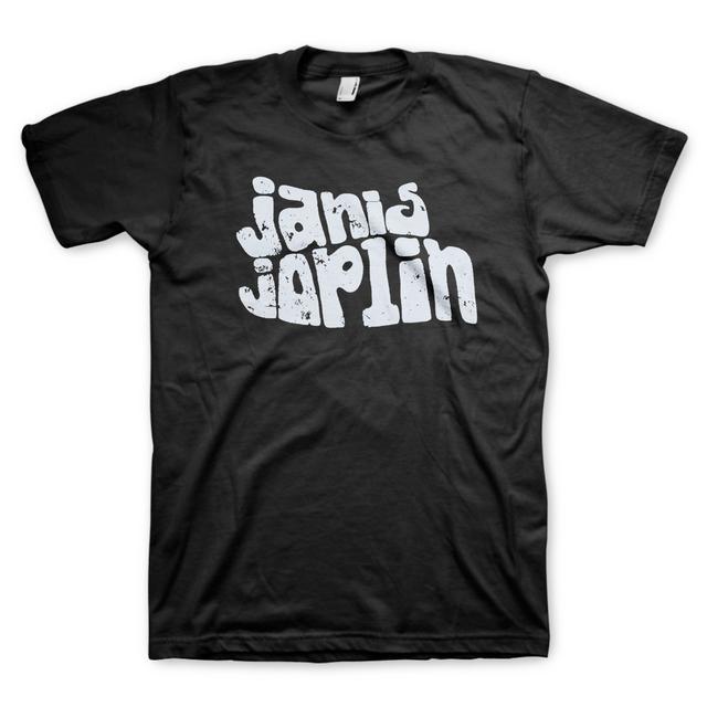Janis Joplin Classic Logo T Shirt