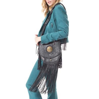 Janis Joplin Time Bag - Black