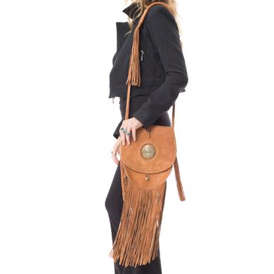 Janis Joplin Time Bag - Tan