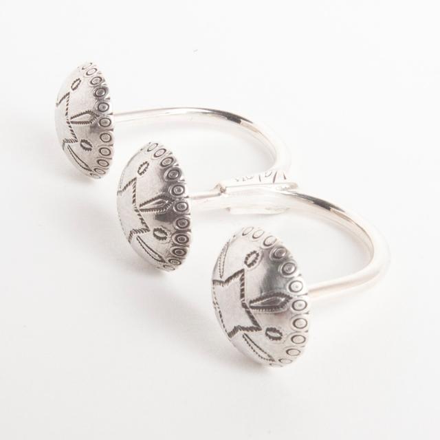 Janis Joplin Concho Ring - Sterling Silver