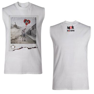 Machine Gun Kelly Road Trippin Destroyed Polaroid Muscle Tee