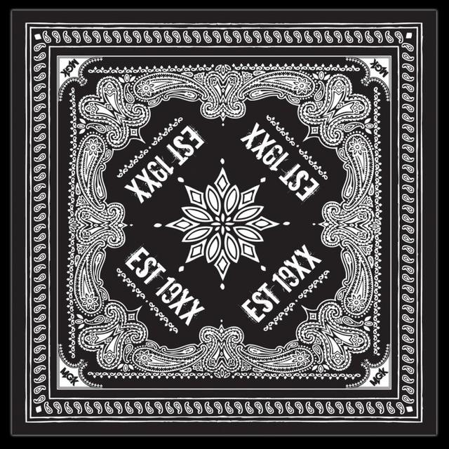 Machine Gun Kelly MGK EST 19XX Bandana