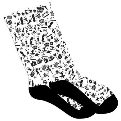 Machine Gun Kelly Mind Of A Stoner Socks