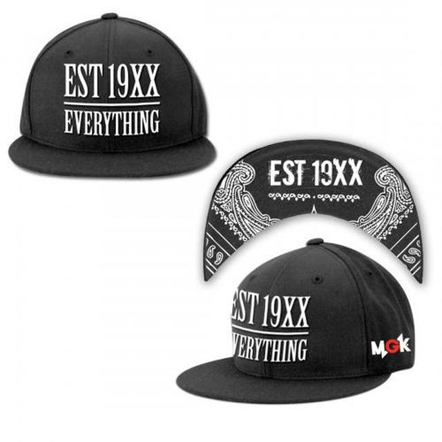 Machine Gun Kelly EST 19XX Snap Back Hat