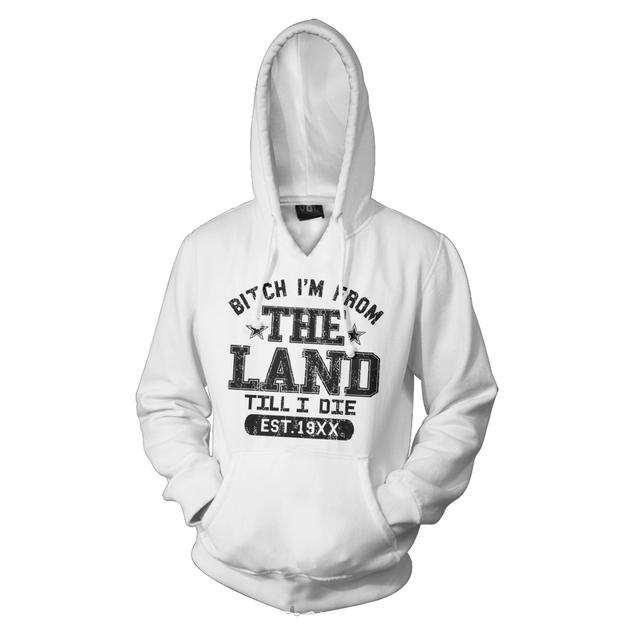 Machine Gun Kelly Till I Die Hoodie Explicit - White