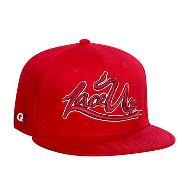 Machine Gun Kelly Lace Up Red Snapback Hat