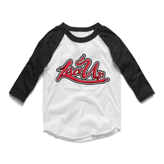 Machine Gun Kelly Lace Up Kid's Baseball Raglan